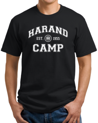 Harand Theatre Camp - Collegiate Style White Print T-shirt