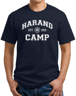 Harand Theatre Camp - Collegiate Style White Print T-shirt