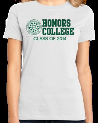 EMU Honors Class of '14 Block T-shirt