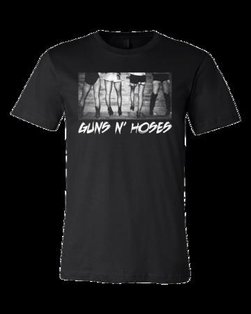 Guns N' Hoses Standard Black Blank with Depth