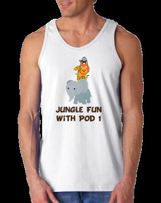DMUM Pod 1 Jungle Fun Tank Top