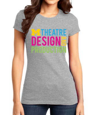D&P Stacked Design T-shirt