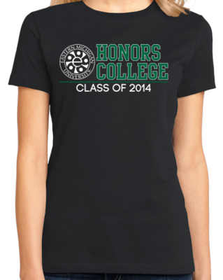 EMU Honors Class of '14 Block T-shirt