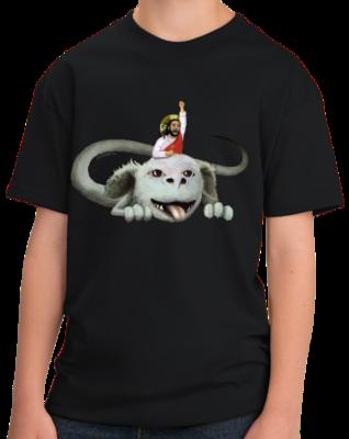 Happy Flight - Black T-shirt