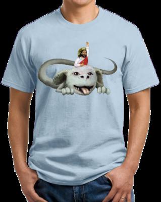 Happy Flight - Light Blue T-shirt