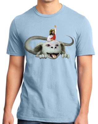 Happy Flight - Light Blue T-shirt