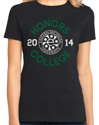 EMU Honors Class of '14 Circle T-shirt