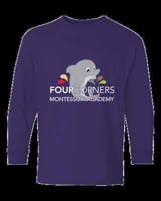 Youth Splash Design Long Sleeve T-shirt