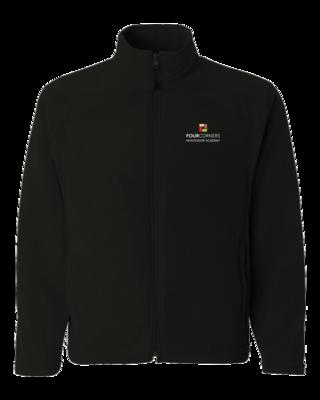 Unisex Full Zip Embroidered Fleece