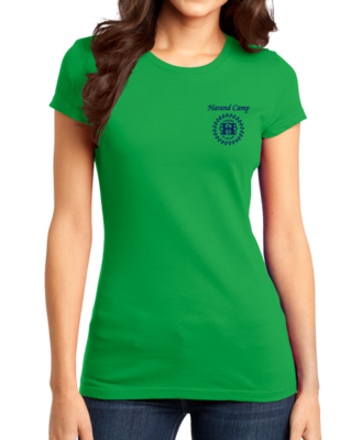 Harand Theatre Camp - Sun Logo Left Chest Royal Print T-shirt