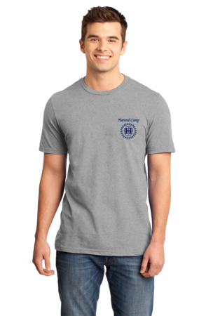 Harand Theatre Camp - Sun Logo Left Chest Royal Print Standard Grey Stock Model Front 1