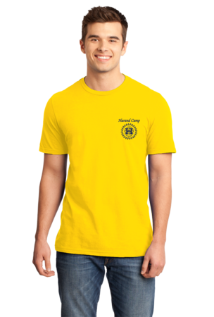 Harand Theatre Camp - Sun Logo Left Chest Royal Print Standard Yellow Stock Model Front 1