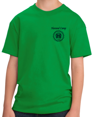 Harand Theatre Camp - Music Staff Royal Print Shirt
