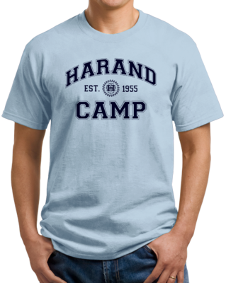 Harand Theatre Camp Collegiate Style Navy Print T-shirt
