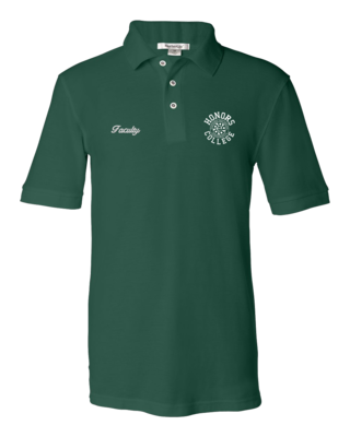 EMU Honors College Faculty Polo T-shirt