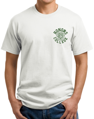 Green Ink Honors Logo, Left Chest T-shirt