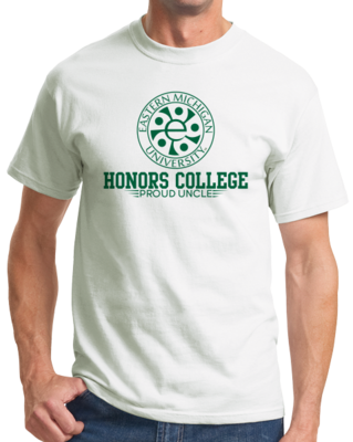 Proud Uncle, Green Ink Honors Winged T-shirt