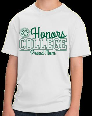 Proud Mom, Green Ink  T-shirt
