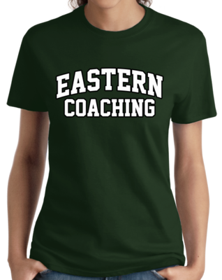 Eastern Coaching Arched, Black Outline Design T-shirt