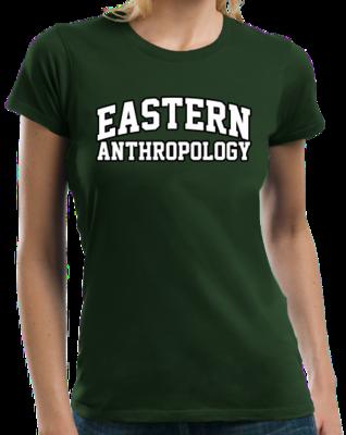 Eastern Anthropology Arched, Black Outline Design T-shirt