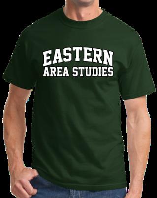 Eastern Area Studies Arched, Black Outline Design T-shirt