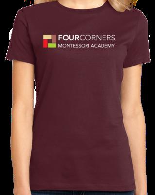 Full Chest Logo Adult Color T-shirt