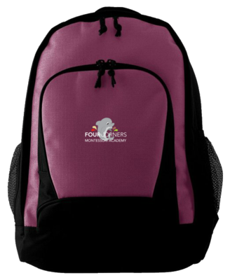 Maroon Book Bag