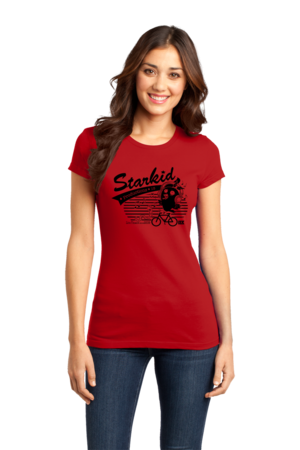StarKid Bird Girly Red Stock Model Front 1