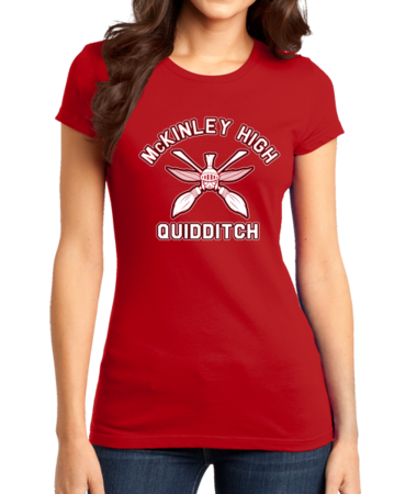 McKinley High Quidditch Girly Red Stock Model Front 1 Thumb