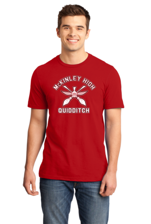 McKinley High Quidditch Standard Red Stock Model Front 1