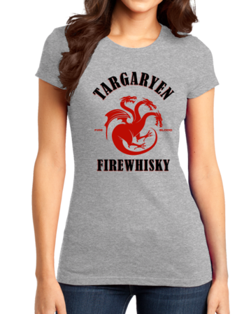 Targaryen Firewhisky Girly Grey Stock Model Front 1 Thumb