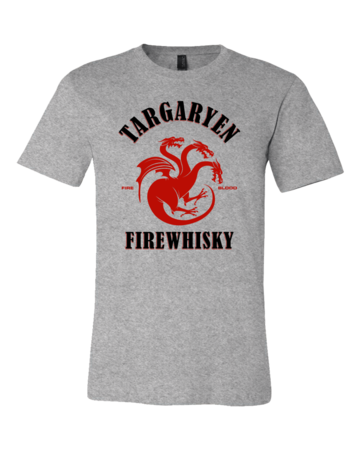 Targaryen Firewhisky Standard Grey Blank with Depth