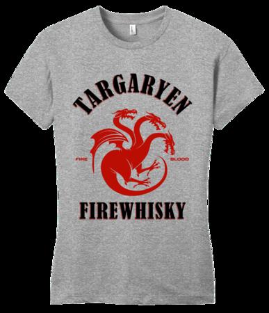 Targaryen Firewhisky Girly Grey Blank with Depth