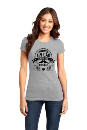 Tin Can Brothers World's Fair Black Girly Grey Stock Model Front 1