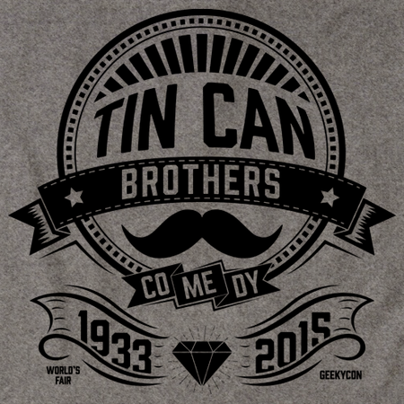 Tin Can Brothers World's Fair Black Grey Art Preview