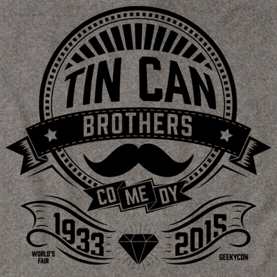 Tin Can Brothers World's Fair Black T-shirt