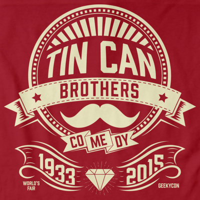 Tin Can Brothers World's Fair Yellow T-shirt