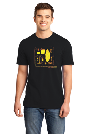 Dylan Saunders: Confluence T-shirt Standard Black Stock Model Front 1 Front