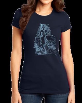 Jaime Lyn Beatty - Light Blue Dolphin Safe Tunes T-shirt