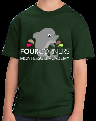 Youth Splash Design Short Sleeve T-shirt