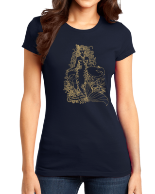 Jaime Lyn Beatty - Gold Print Dolphin Safe Tunes T-shirt