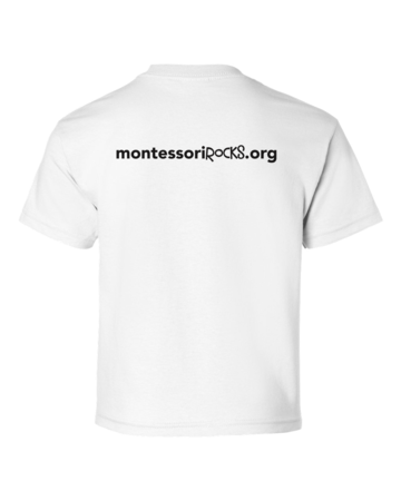 Montessori Rocks Youth White Blank with Depth