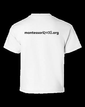 Montessori Rocks Youth White Blank with Depth