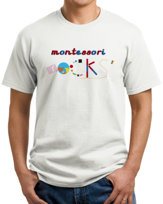 Montessori Rocks T-shirt