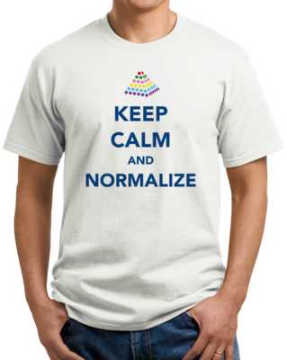 Keep Calm and Normalize T-shirt