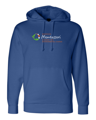 Muskegon Montessori Academy for Environmental Change Logo Pullover Hoodie