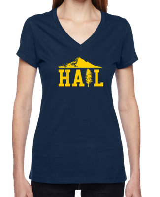 Portland U of M Club Hail V-Neck