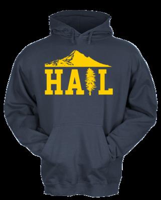 Portland U of M Club Hail Pullover Hoodie