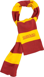Cardinal and Gold StarKid Winter House Scarf