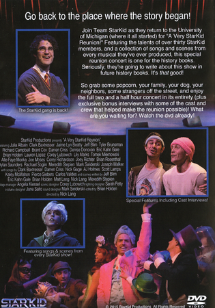 A Very StarKid Reunion DVD Back Cover